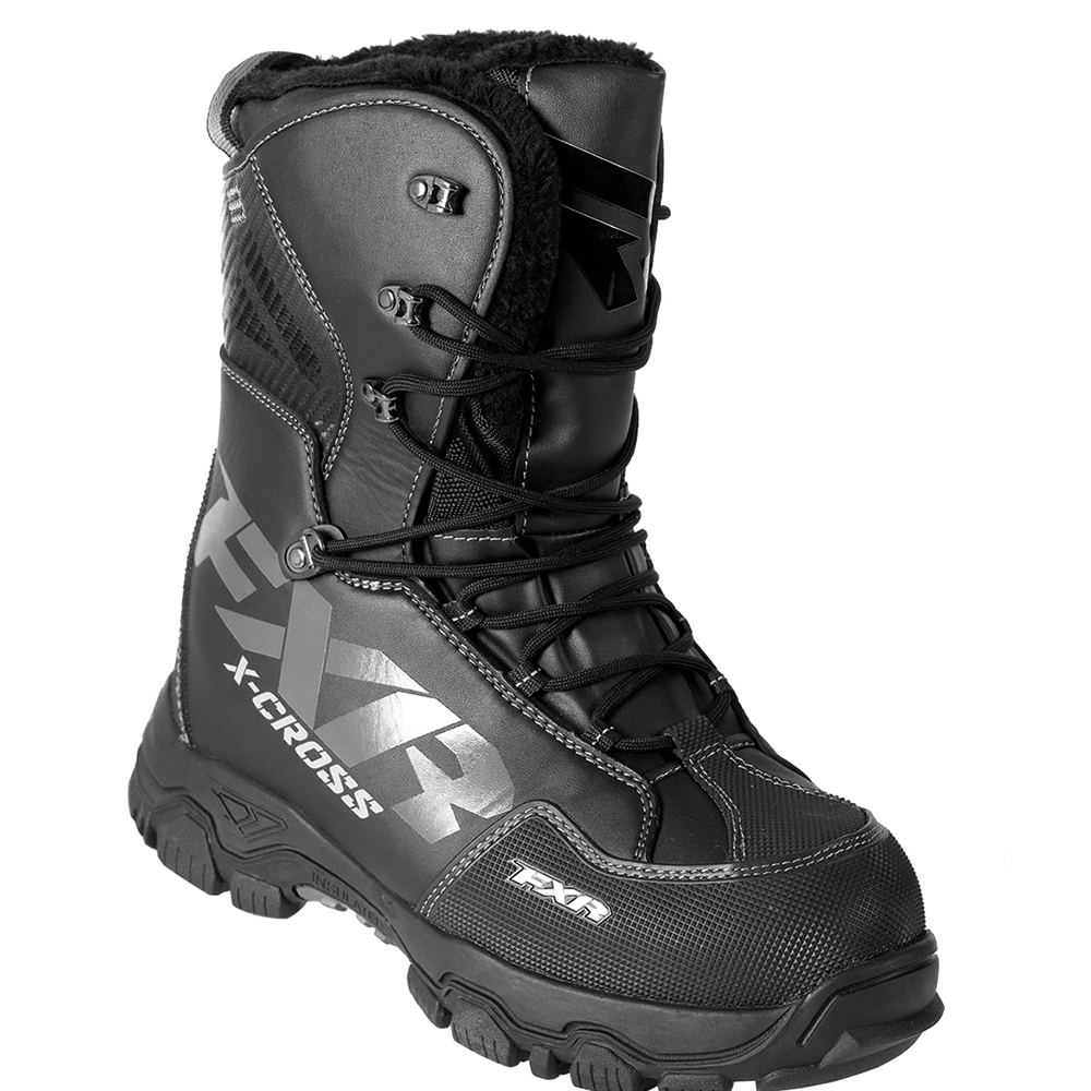 FXR X Cross Lace Winter Snowmobile Boot Insulated 600g