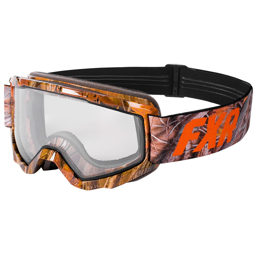 FXR Adult Clear Lens Camo Frame Squadron Goggle Google Gogge   eBay