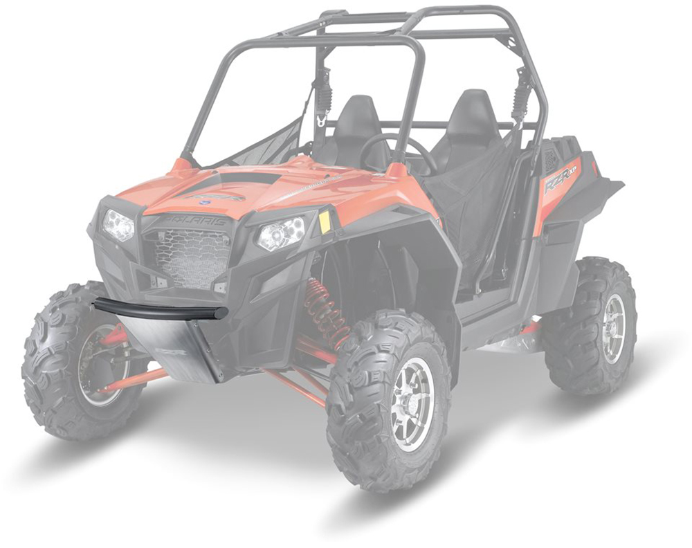 low profile front bumper riding 2008 2013 polaris rzr 4. Black Bedroom Furniture Sets. Home Design Ideas