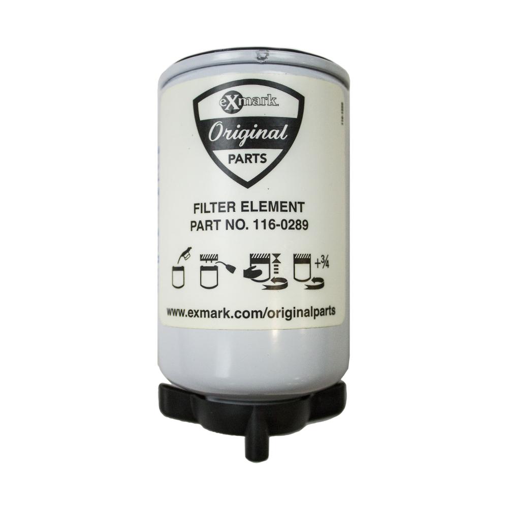 Fuel Filter Exmark Toro LXS25KD605 LXS25KD665 LXS25KD725 LZD25KD605  116-0289 OEM