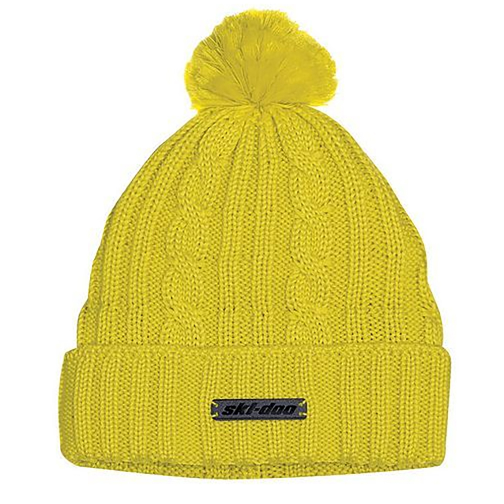 a09045b3536 OEM Ski-Doo Knitted Hat Authentic Microfleece Lining Snowmobile Lifestyle