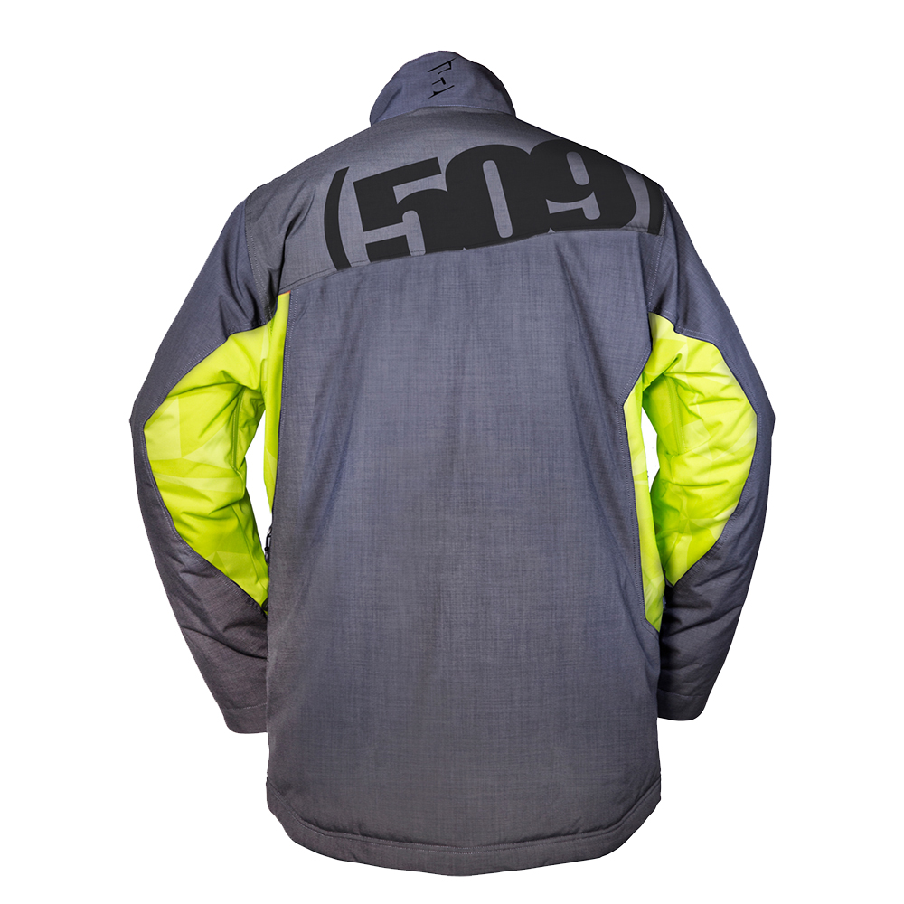 509-Range-Backcountry-Insulated-Snowmobile-Jacket-Weatherproof-Snocross-Shell thumbnail 3