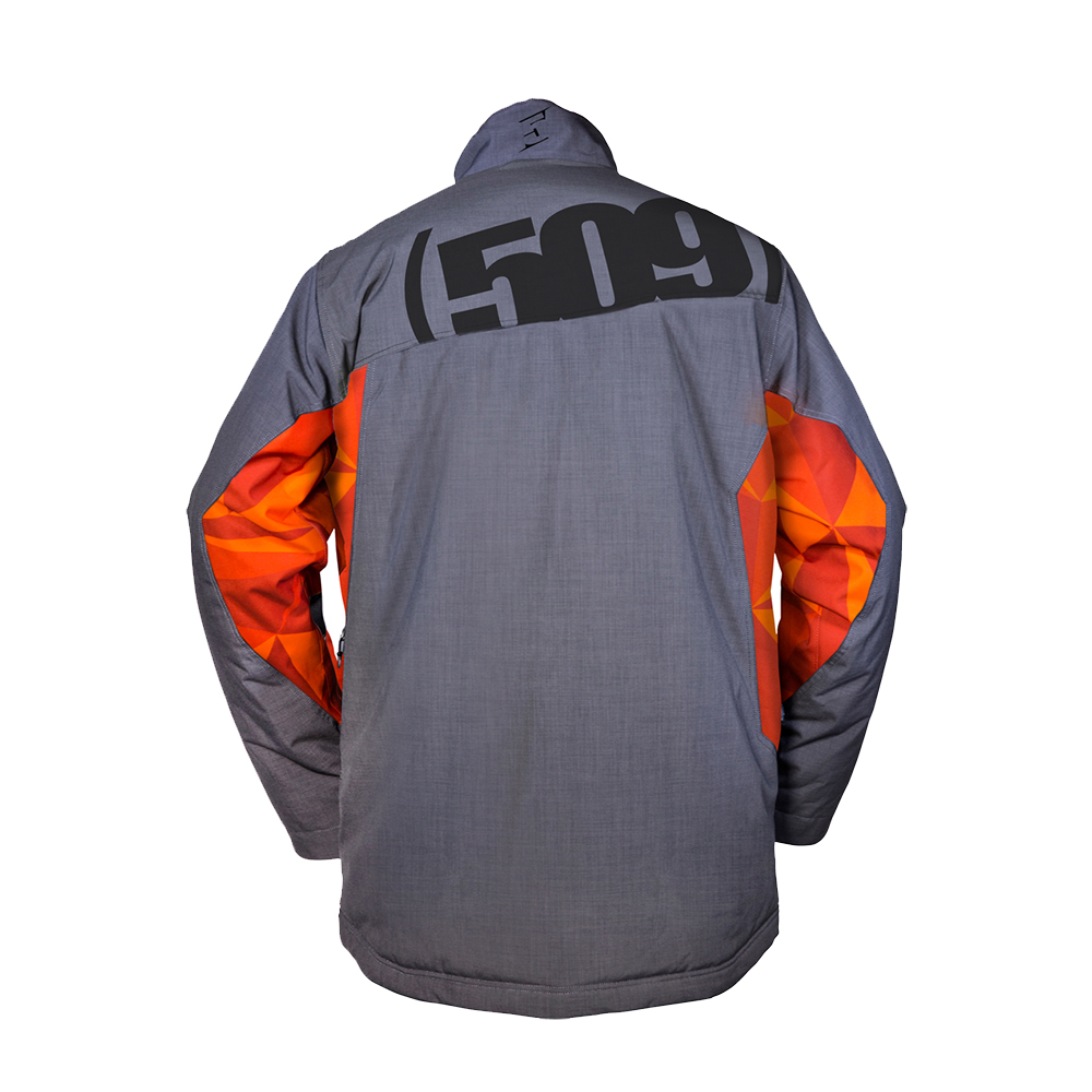 509-Range-Backcountry-Insulated-Snowmobile-Jacket-Weatherproof-Snocross-Shell thumbnail 5