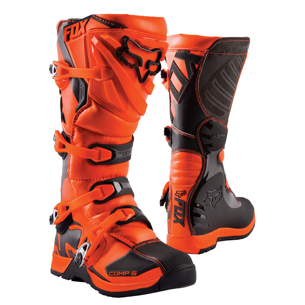 Fox-Racing-Youth-Comp-5-Riding-Boots-Motocross-Motorcycle-Offroad-MotoX