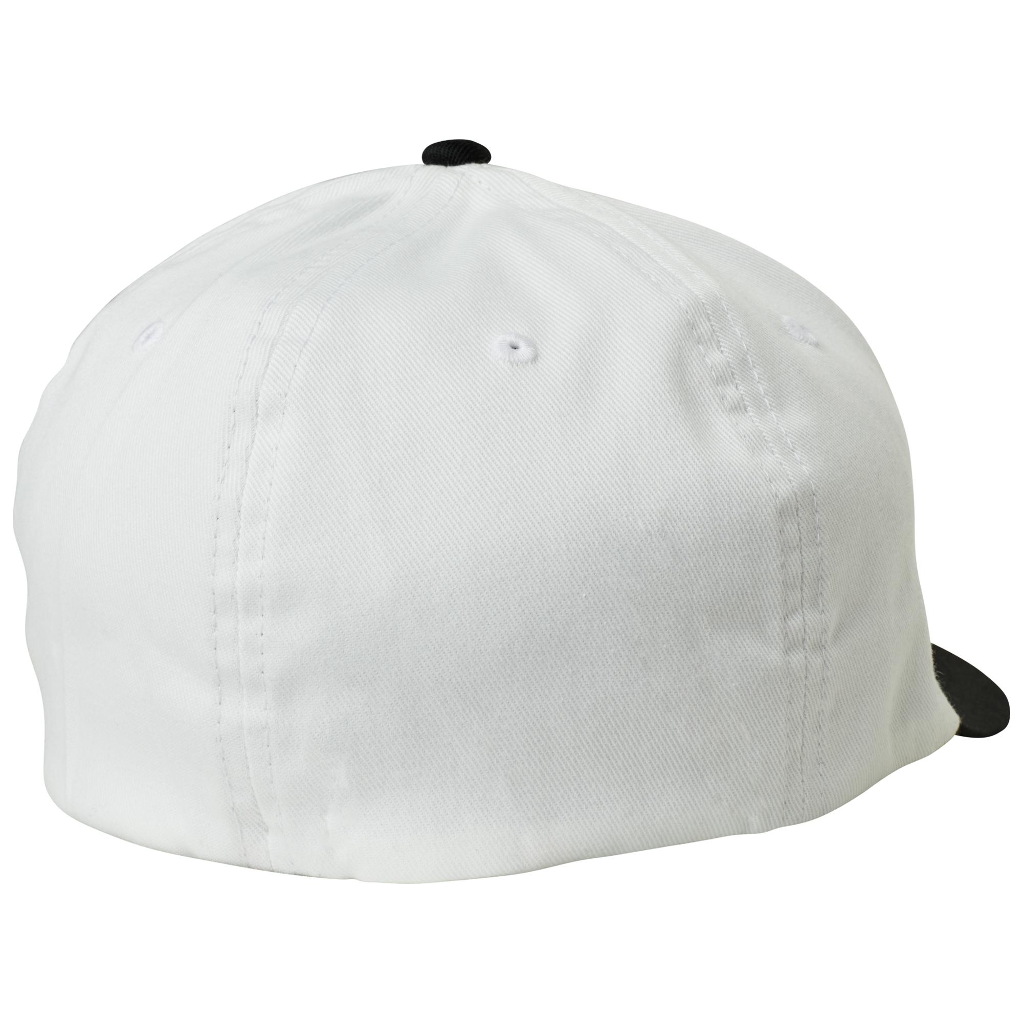 36a329b54716b Fox Racing Cap Hat Epicycle Flexfit White L xl 21977 for sale online ...