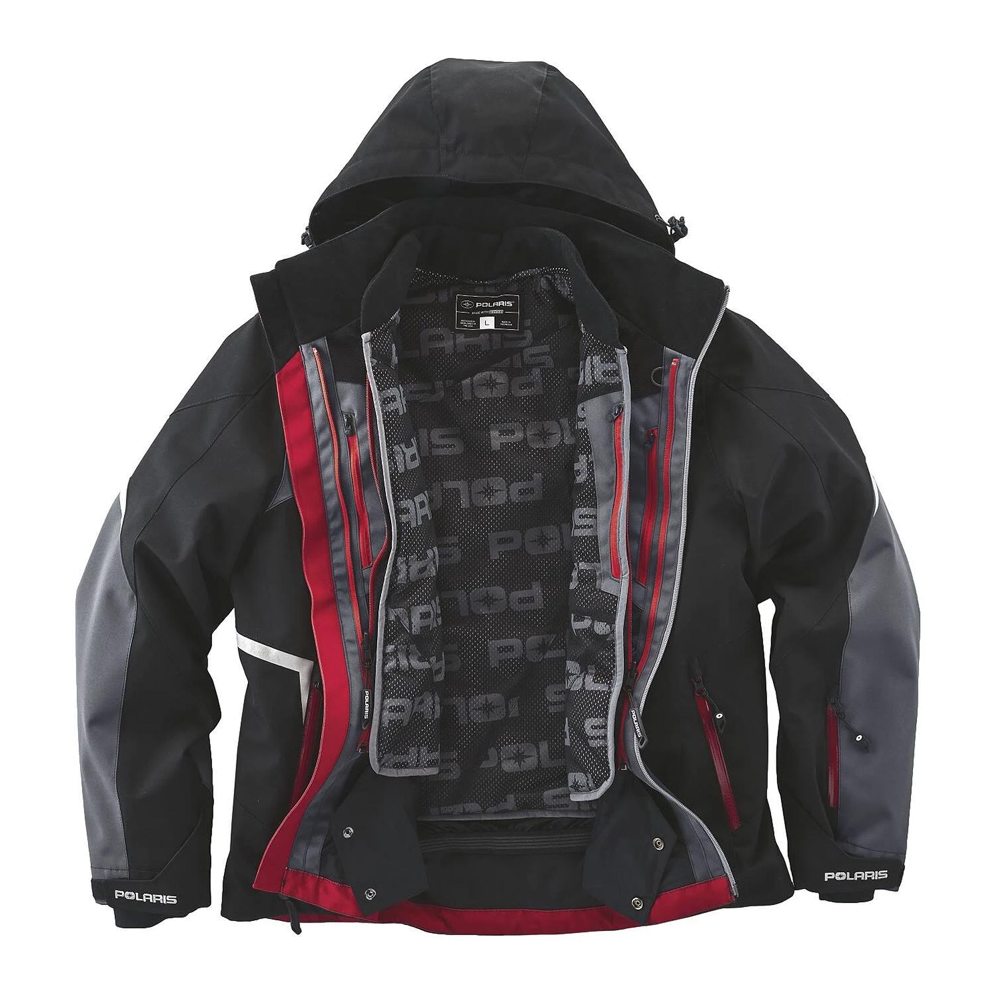 Polaris Mens TECH54 Full-Zip Pro Monosuit//One-Piece Snowsuit with Waterproof Breathable Membrane L