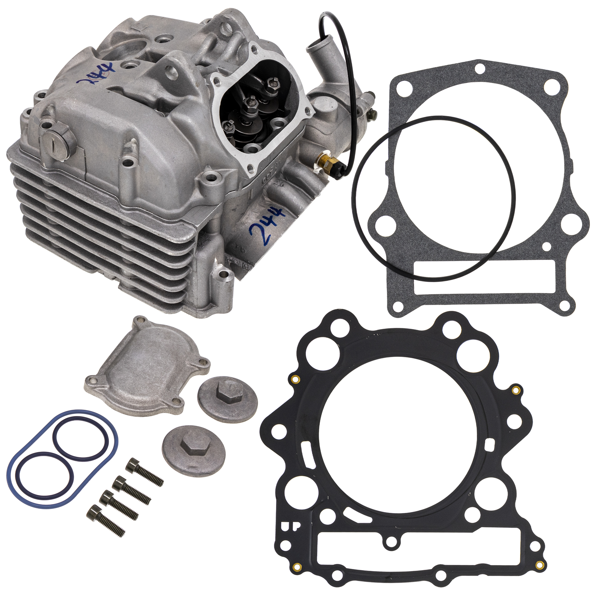 Details About Niche Cylinder Head Assembly Gasket Kit 2002 2008 Yamaha Grizzly Rhino 660