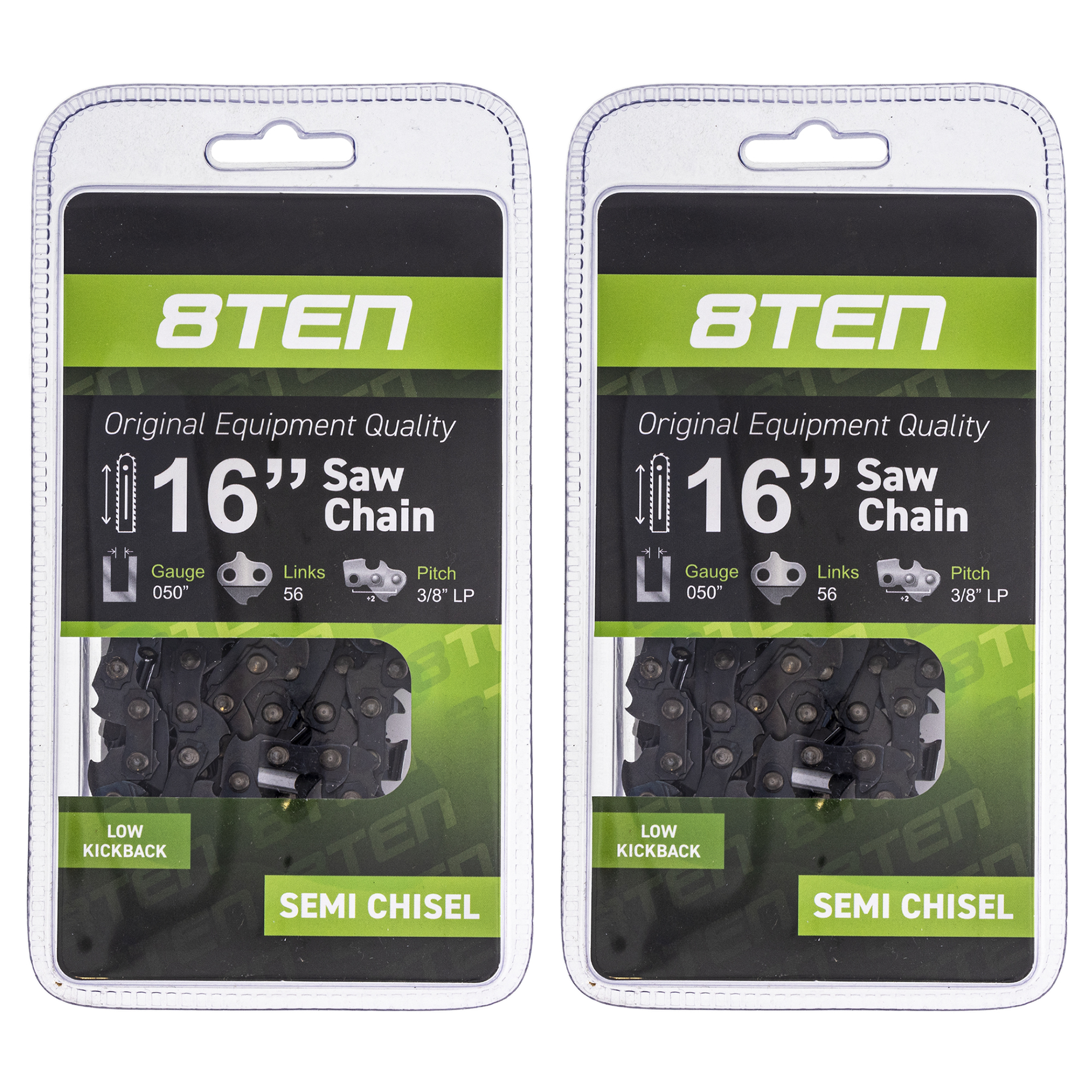 "3PCS 16/"" Semi Chisel Chainsaw Chain for Makita DC UC NB DCS ~3//8/"" 0.050/"" 56 DL k"